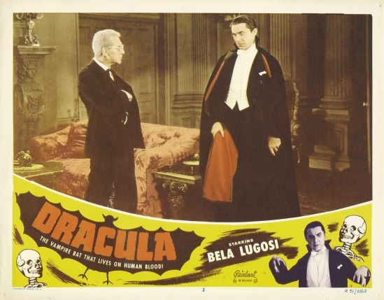 Dracula 1951 Re-Release Lobby Card