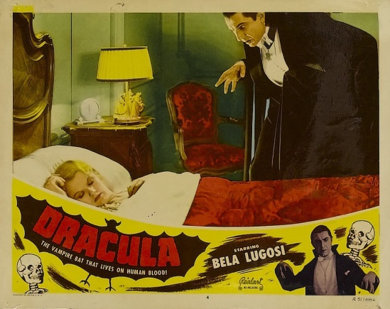 Dracula 1951 Re-Release Lobby Card 1a