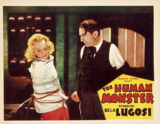 The Human Monster Lobby Card 6