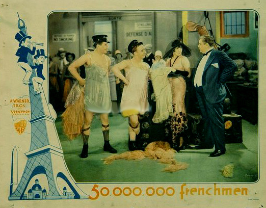 French lobby card of 500,000 people