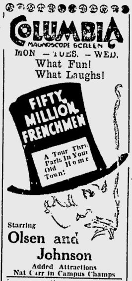 50,000,00 Frenchmen, Ottawa Citizen, September 5, 1931