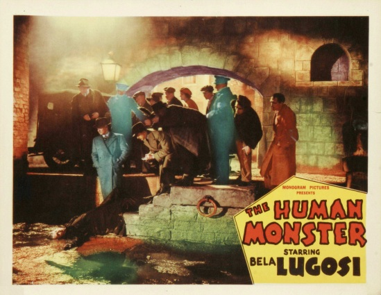 The Human Monster Lobby Card 2