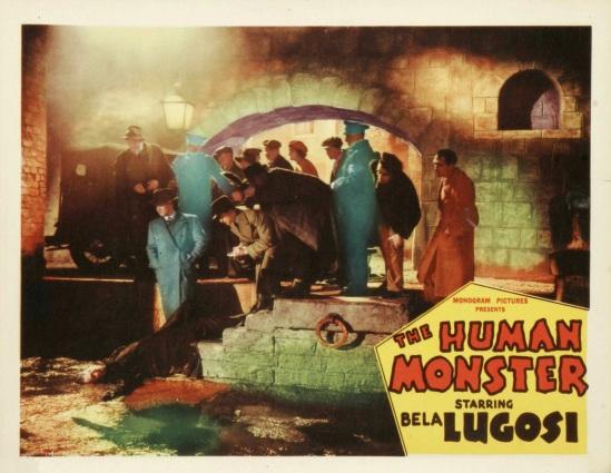 The Human Monster Lobby Card 2
