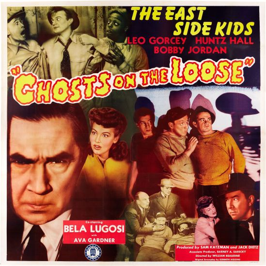 Ghosts On The Loose 6 sheet