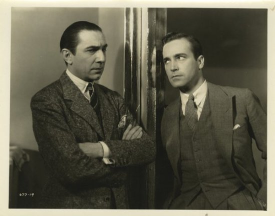 Bela Lugosi and David Manners