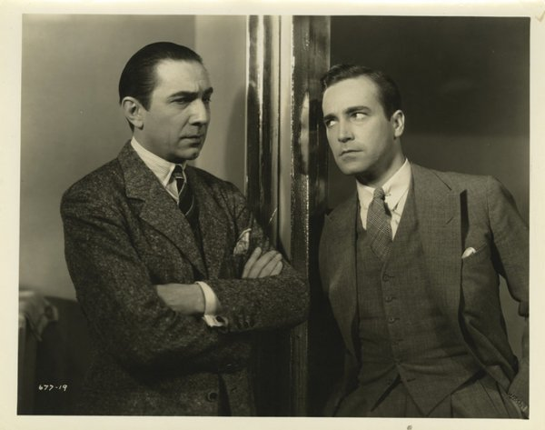 Bela Lugosi and David Manners