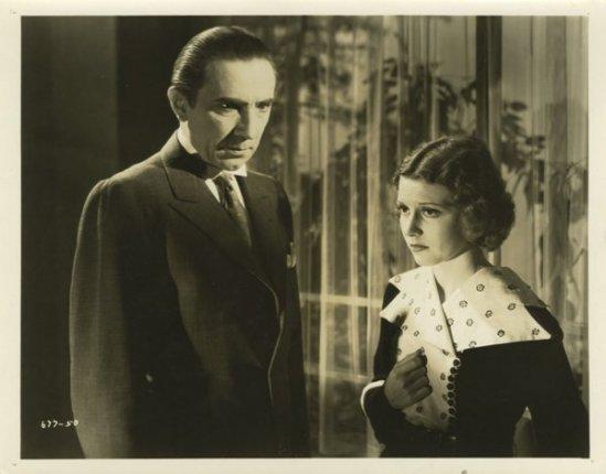 Bela Lugosi and Jacqueline Wells The Black Cat