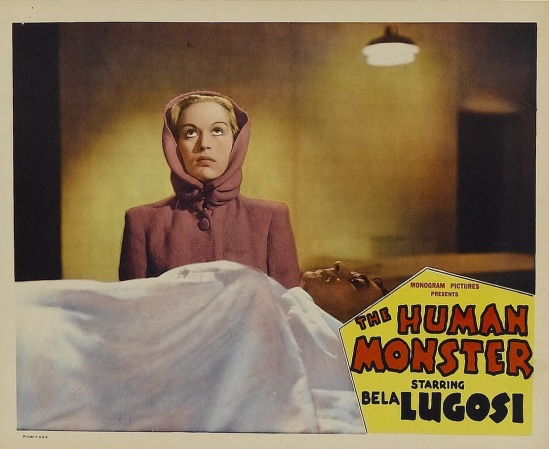 The Human Monster Lobby Card 3