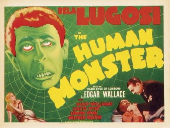 The Human Monster Lobby Card 1