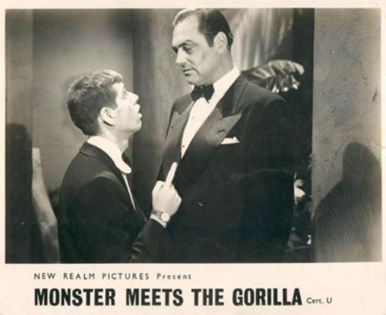 Bela Lugosi Meets A Brooklyn Gorilla Re-release Lobby Card 2
