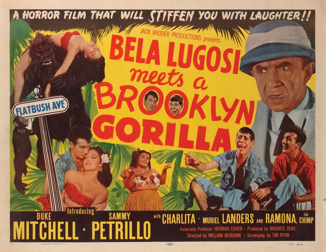 Bela Lugosi Meets a Brooklyn Gorilla Bela Lugosi Meets a Brooklyn Gorilla Jack Broder Productions Inc