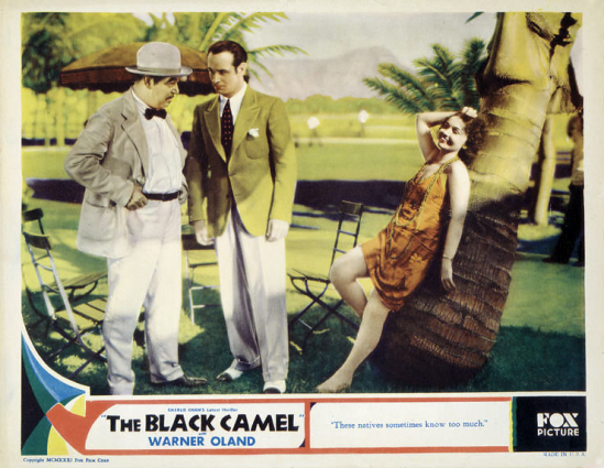Black Camel Lobby Card 1