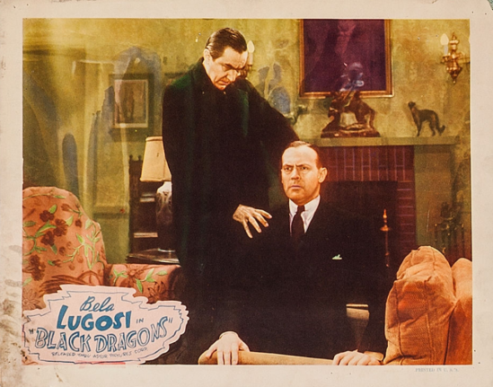 Black Dragons 1949 Re-Release Lobby Card 2