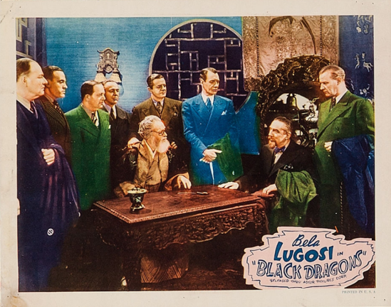 Black Dragons 1949 Re-Release Lobby Card 3
