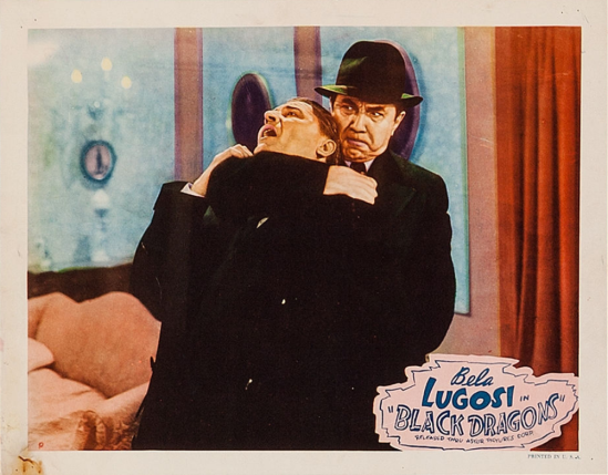 Black Dragons 1949 Re-Release Lobby Card 6