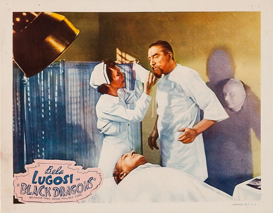 Black Dragons 1949 Re-Release Lobby Card 7