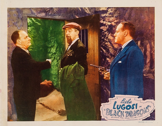 Black Dragons 1949 Re-Release Lobby Card 8