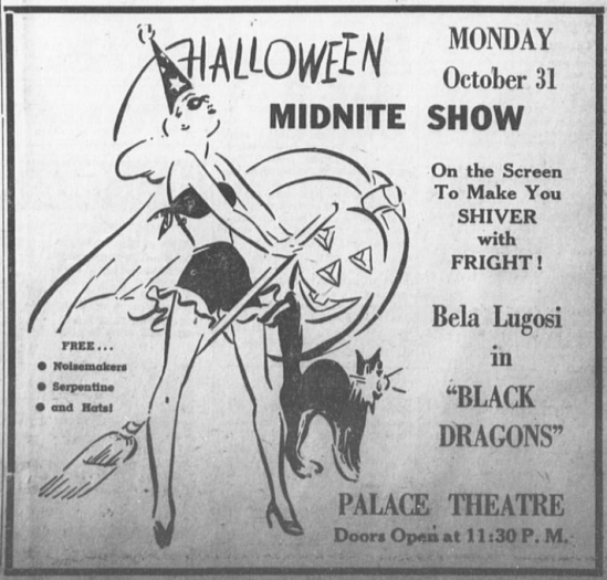 Black Dragons, The Hemphill County News, October 28, 1949