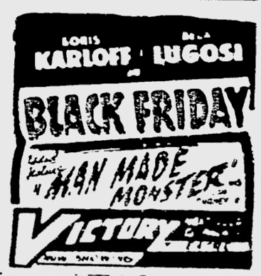 Black Friday, The Montreal Gazette, December 15, 1943