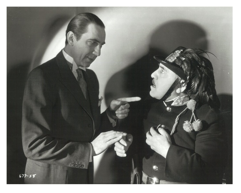 Bela Lugosi and Henry Armetta