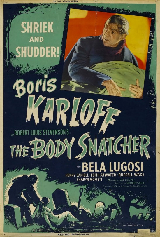 The Body Snatcher 1952 Re-releasee Poster