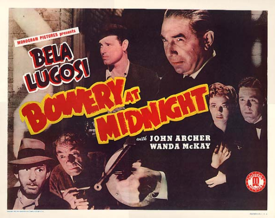 Bowery At Midnight 1942