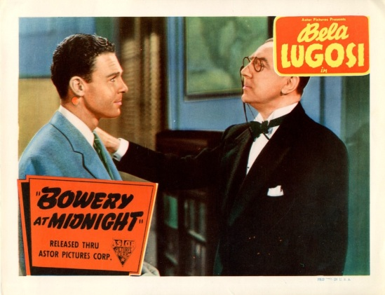 Bowery At Midnight Lobby Card 5