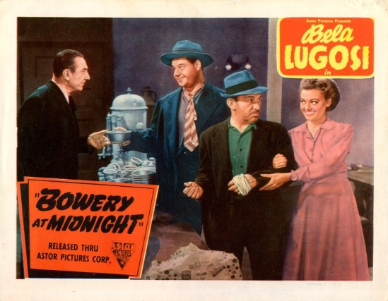 Bowery At Midnight Lobby Card 7