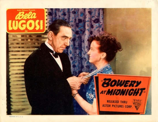 Bowery At Midnight Lobby Card 8