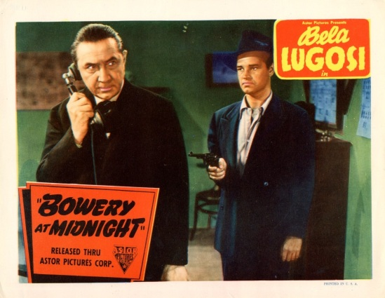 Bowery At Midnight Lobby Card 9