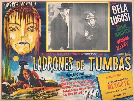 Bowery At Midnight Mexican Lobby Card 2