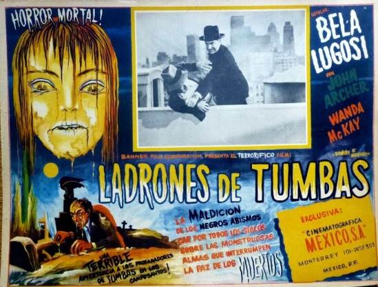 Bowery At Midnight Mexican Lobby Card 3