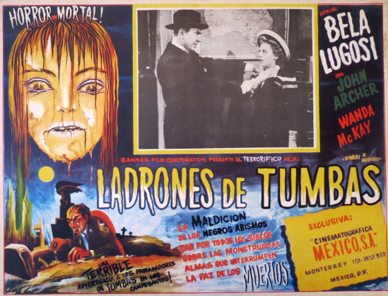Bowery at Midnight Mexican Lobby Card