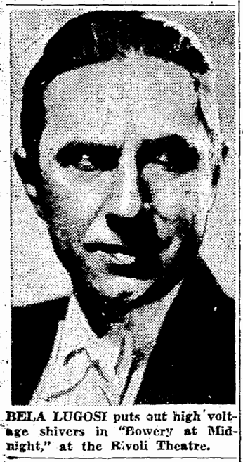 Bowery at Midnight, Seattle Daily Times, April 11, 1943