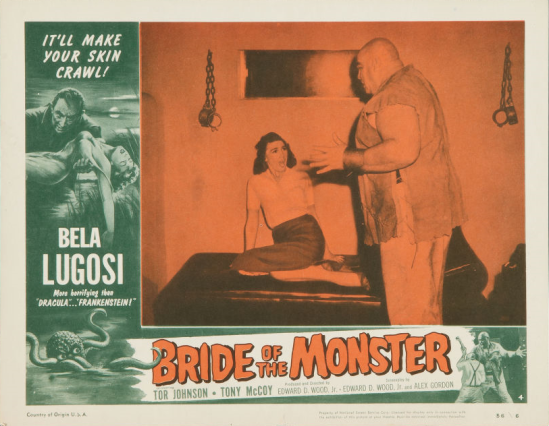 Bride Of The Monster Lobby Card 4