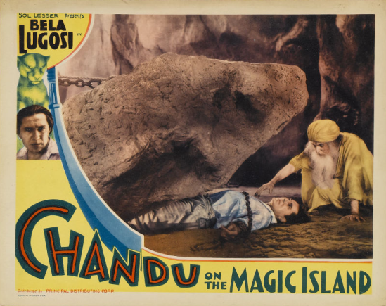 Chandu On The Magic Island Lobby Card 2