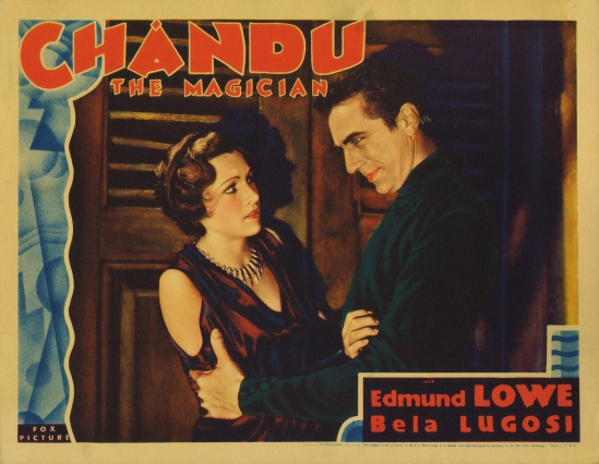 Chandu the Magician Lobby Card 1