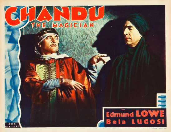Chandu the Magician Lobby Card 2