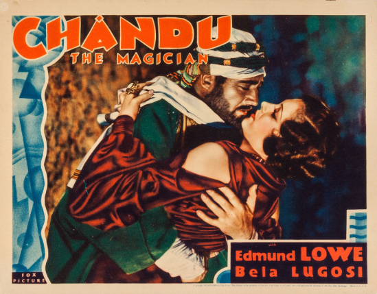 Chandu the Magician Lobby Card 3