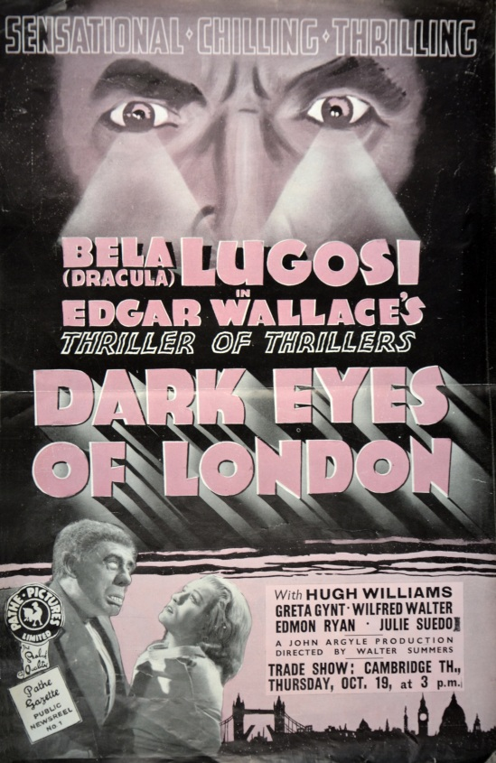 Dark Eyes of London UK Trade Ad