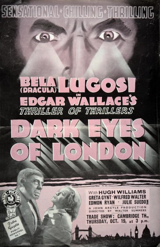 Dark Eyes of London UK Trade Ad