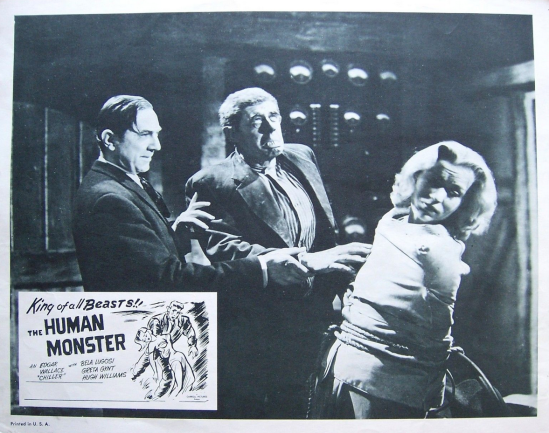 The Human Monster Lobby Card 9