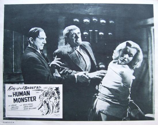 The Human Monster Lobby Card 9