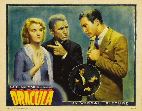 Dracula 1931 lobby card 4