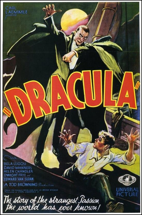 Dracula 1931 One Sheet Style F