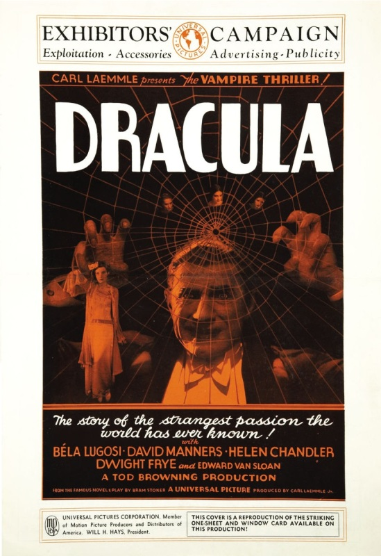 Dracula 1931 press book 1