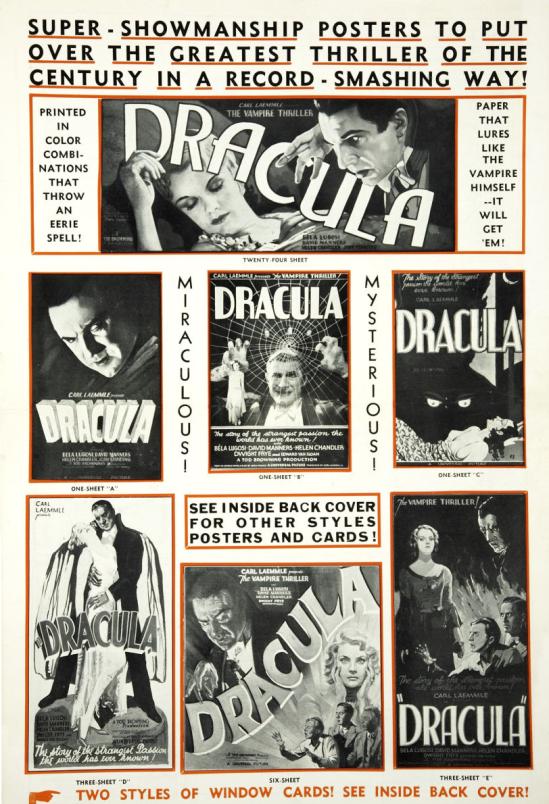 Dracula 1931 press book 2