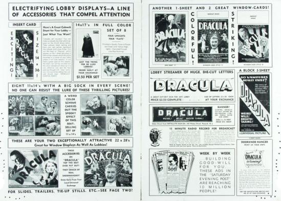 Dracula 1931 press book 3