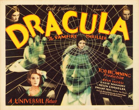 Dracula 1931 title lobby card