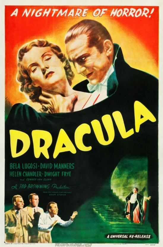 Dracula 1947 One Sheet